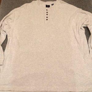 Mens Levi's thermal shirt